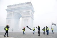 133 injured as French police fire tear gas in Paris 'Yellow Vest' protests