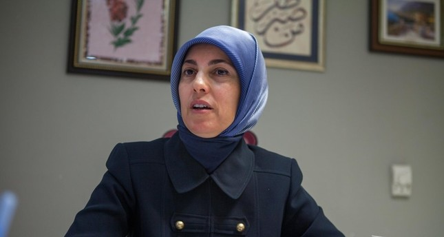 Merve Kavakçı speaks at Üsküdar University where she works as a consultant to rector.