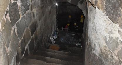 Réservoir d'eau médiéval découvert dans le nord de la Turquie