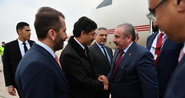 رئيس البرلمان التركي يصل الرباط للمشاركة في مؤتمر اتحاد مجالس دول منظمة التعاون الإسلامي