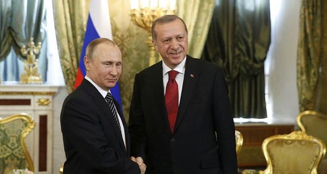 أردوغان في موسكو على رأس وفد وزاري كبير للقاء بوتين