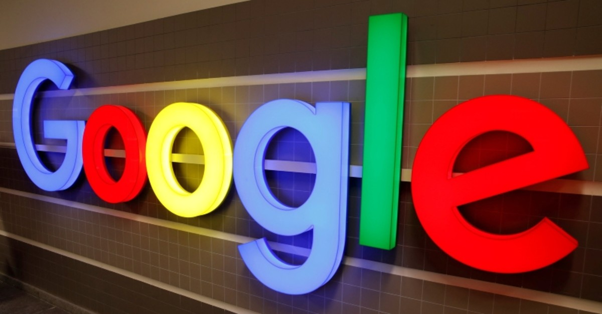 An illuminated Google logo is seen inside an office building in Zurich, Switzerland December 5, 2018. (REUTERS Photo)