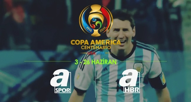 Copa America kicks off this weekend in US; Turkey's A Spor, A Haber to broadcast matches live