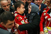 First international gold fires up Turkish judoka with Down syndrome