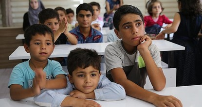 pThe Turkish Armed Forces' (TSK) Idlib operation has introduced hope for Syrian orphans and other survivors who escaped to Hatay in southern Turkey to flee the ongoing war./p  pYoung refugees of...