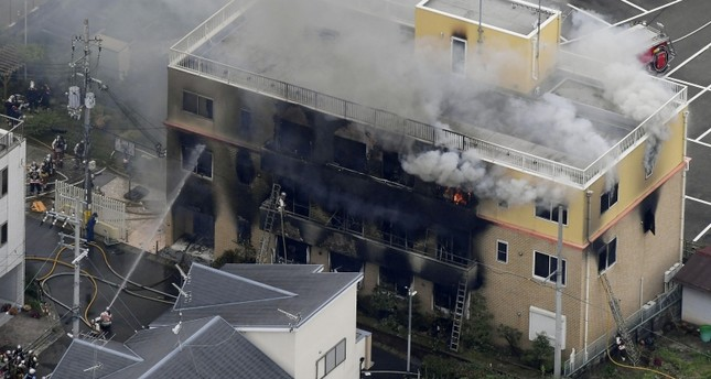 24 killed in suspected arson attack in Japan