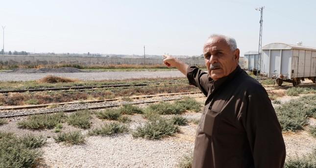 Syrian refugee Ahmet Halaf poses in Şanlıurfa province, located across Syria AA Photo