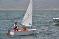 Champion sailors to be trained on northeastern Turkey's Lake Çıldır