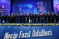 President Recep Tayyip Erdoğan attended a literary award ceremony Friday in Istanbul in memory of Turkish poet and philosopher Necip Fazıl Kısakürek.  Necip Fazıl was a poet, novelist and...