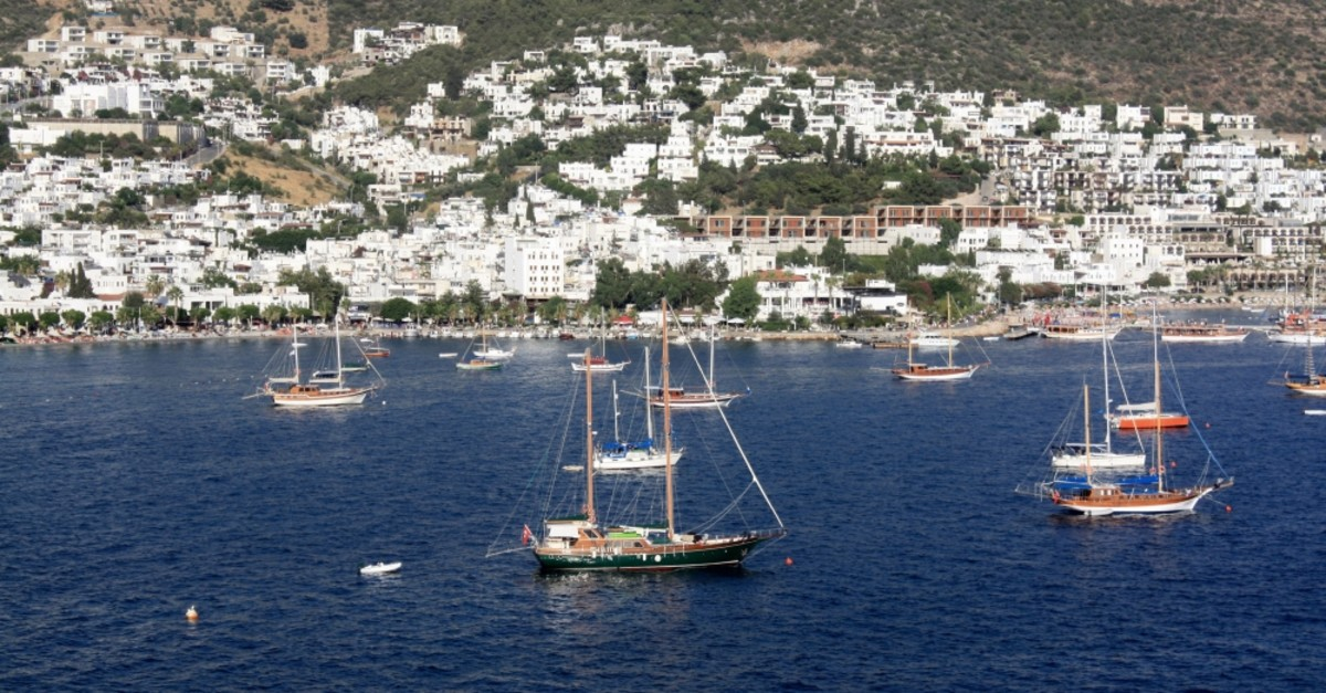 Bodrum, also known as the ,Turkish Riviera,, is one of the trendiest destinations for summer holidays.