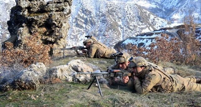 الجيش التركي يحيد إرهابيين من بي كا كا شمالي العراق