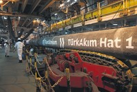 TurkStream's construction gains momentum