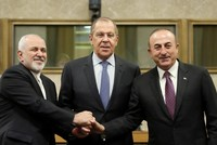 Turkey, Russia, Iran call for 'viable, Syrian-led' political process in Geneva