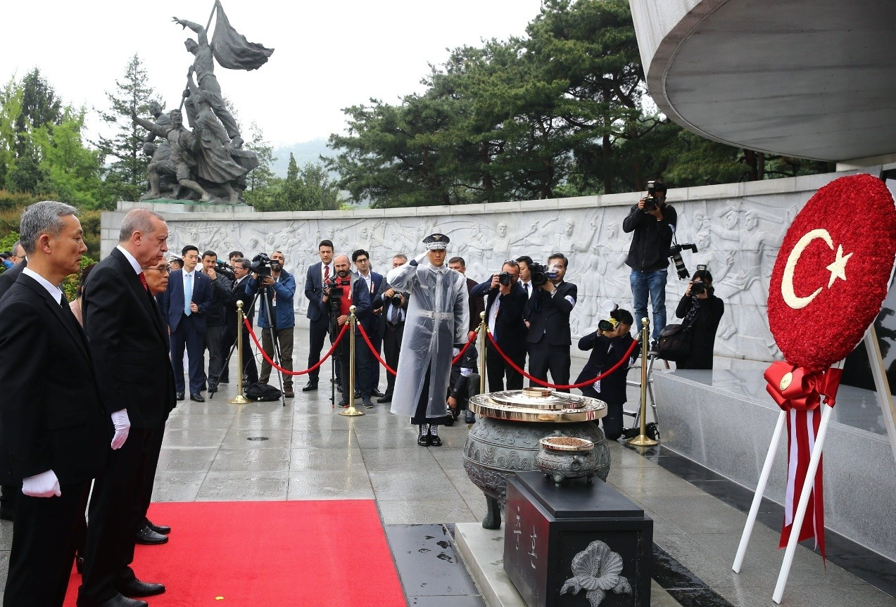 Erdoğan's official visit to South Korea in pictures