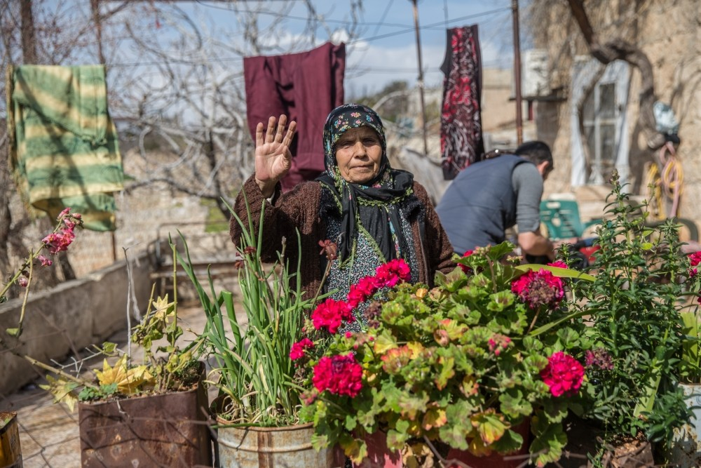 Meleknaz Musalli, 67, a Syrian Kurdish, said she hopes Afrin will be liberated from the YPG as soon as possible.