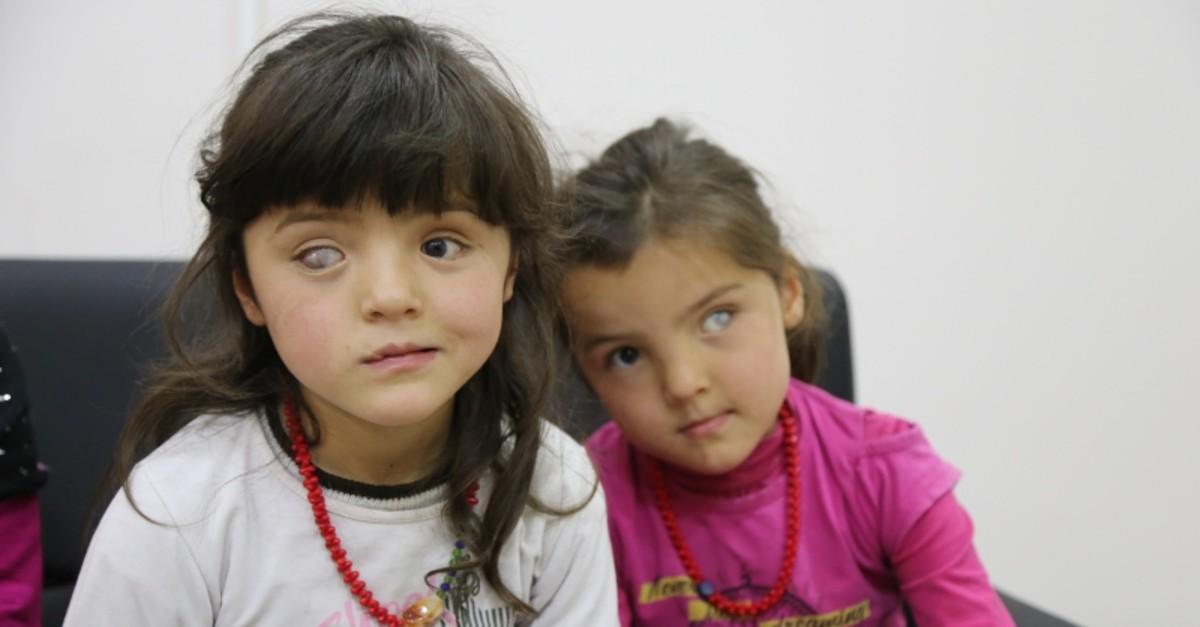 Zohreh (L) and her sister Fatemah Ahmadi. (AA Photo)