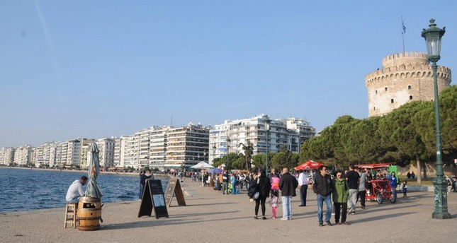 A view of Thessaloniki. Greece's second-largest city has been popular among FETÖ members in the past two years.