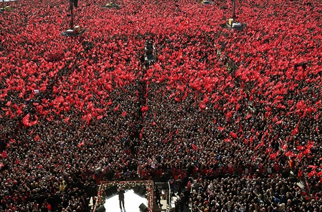 1.6 million gather in Yenikapı for grand Istanbul rally of People's Alliance