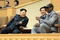 Dennis Rodman, the former NBA bad boy who has palled around with North Korean leader Kim Jong Un, flew back to Pyongyang yesterday for the first time in Donald Trump's presidency. He said he is...
