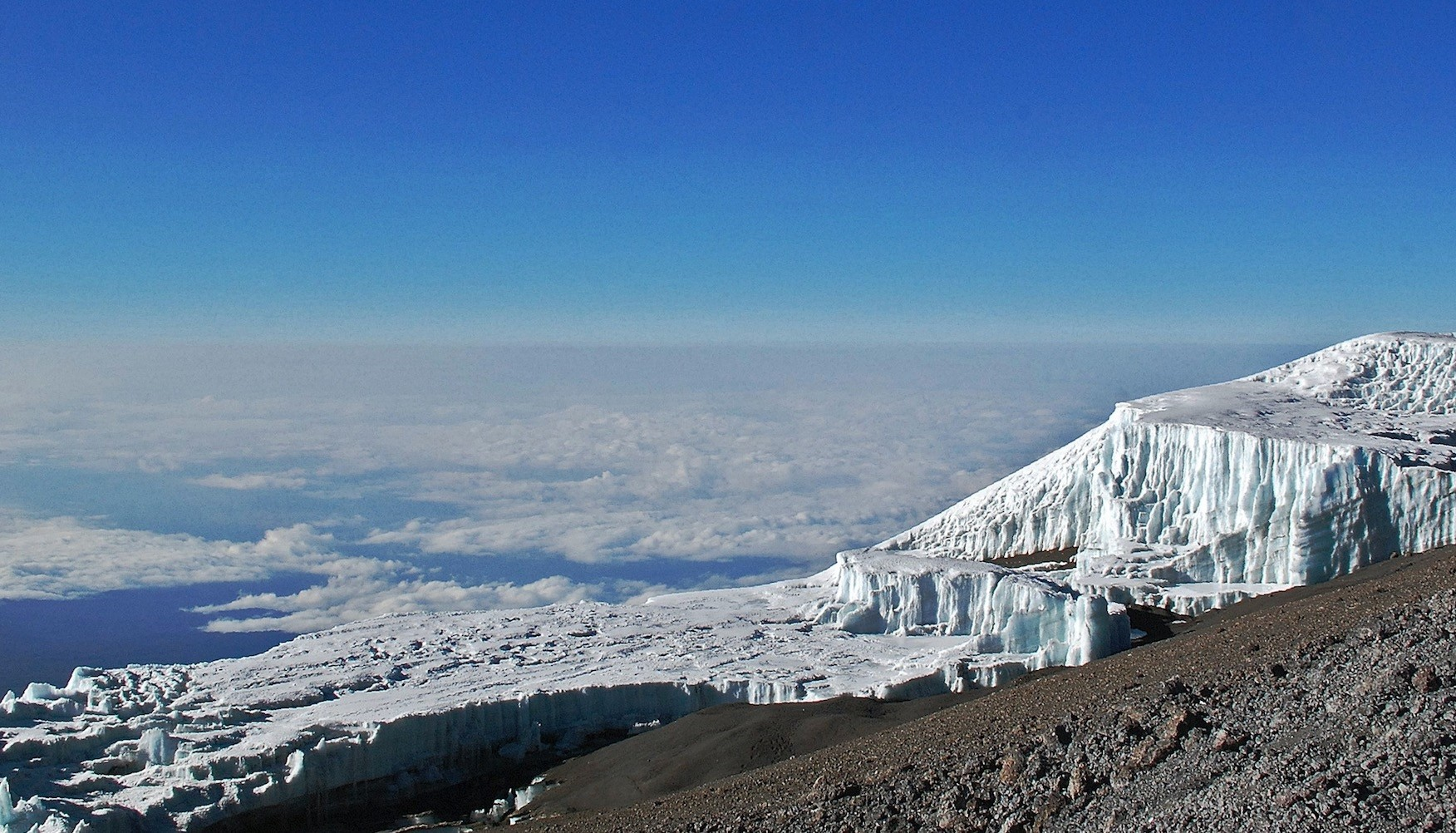 Kilimanjaro Natural Park in Tanzania is one of the many sites threatened by climate change.