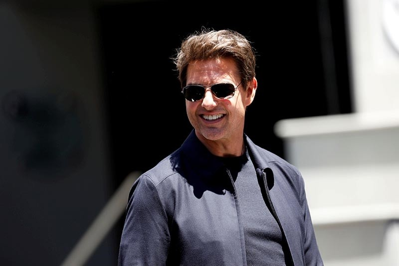 ctor Tom Cruise attends an event to promote the film ,The Mummy, at the Hollywood and Highland gateway in Hollywood, California, May 20, 2017 (Reuters Photo)