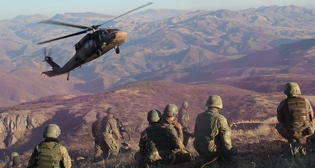 39 PKK-Terroristen bei Anti-Terror-Einsätzen getötet