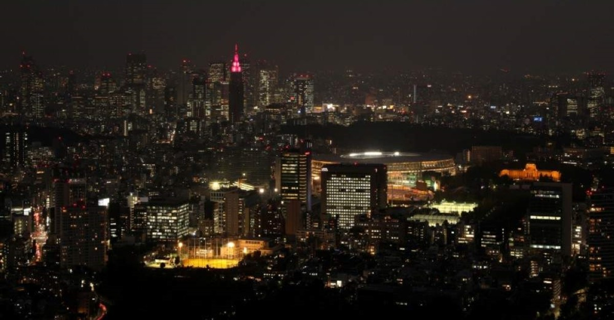 A view of the Olympic stadium from Roppongi, Tokyo, Japan, Oct. 31, 2019. (REUTERS Photo)