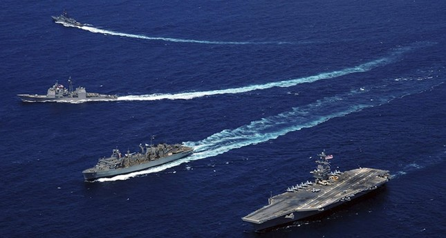US aircraft carrier starts patrolling S. China Sea