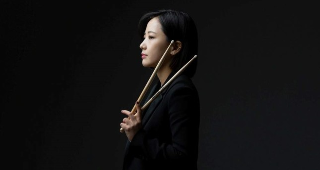 Drummer Soojin Suh will be accompanied by skilled Korean musicians on stage at Akbank Sanat.