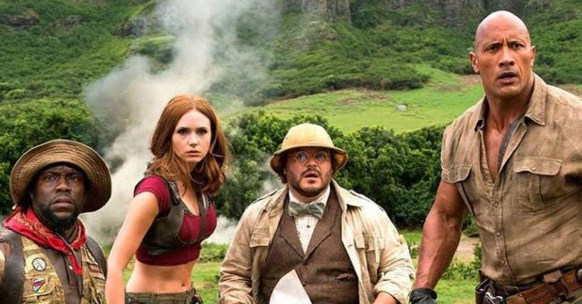 Youngsters Return To Jumanji To Save Their Friend Daily Sabah
