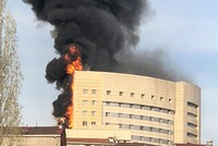 Major fire breaks out in Istanbul hospital
