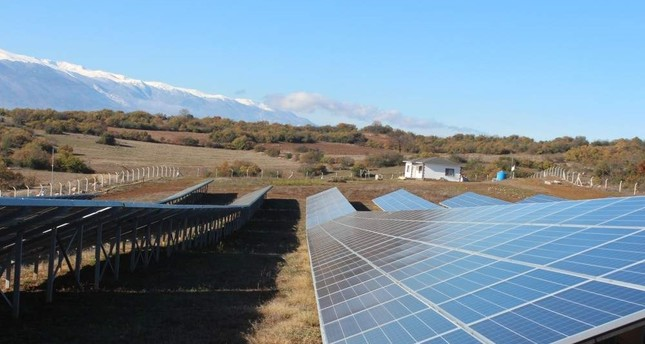 Turkey is expected to add 10 GW of solar capacity by 2024, out of which 3.7 GW will come from distributed systems, according to the International Energy Agency. AA Photo