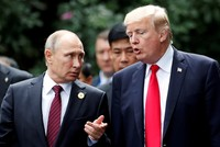 'Can't say if Putin is friend or foe,' Trump says ahead of Europe tour