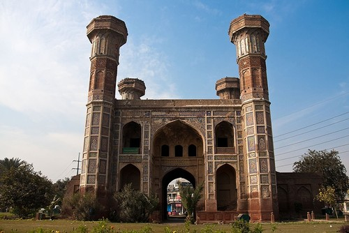 Chauburji in Lahore