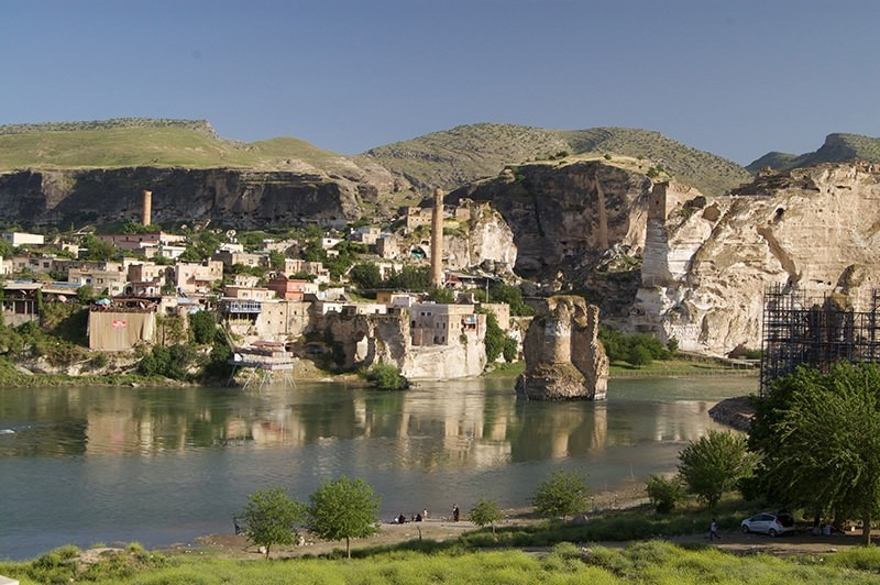 Ancient city of Hasankeyf on 'Most Endangered Sites List'
