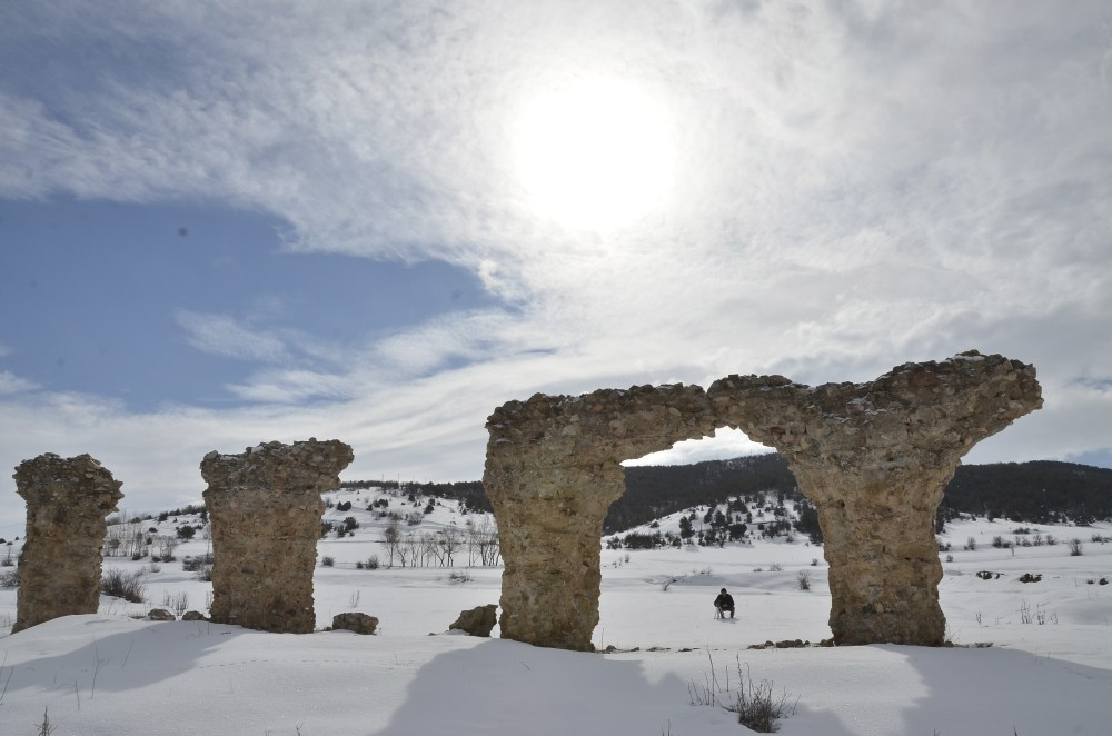 The ancient city of Satala is assumed to be built during the Eastern Roman Empire to protect the borders on a foothill in Kelkit district of Gu00fcmu00fcu015fhane province.