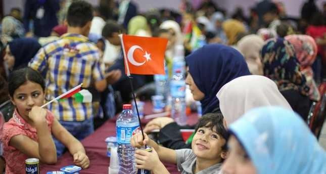 أهل غزة يعربون عن امتنانهم لتركيا بسبب جهودها في تخفيف الحصار