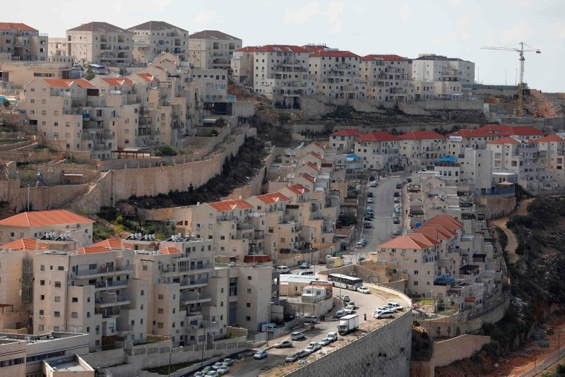 A view of the Israeli settlement of Beitar Illit on February 14, 2018. (AFP Photo)