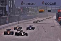 Пилот Mercedes Боттас победил на этапе «Формулы-1» в Азербайджане