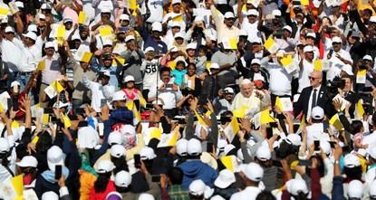 Pope Francis holds historic Mass on Arabian Peninsula