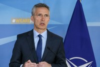 NATO convenes as Stoltenberg voices support for Syria strikes