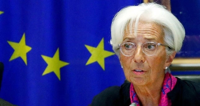 hristine Lagarde, the next president of the European Central Bank, speaks to the European Parliament's Economic and Monetary Affairs Committee in Brussels, Belgium September 4, 2019 (Reuters Photo)