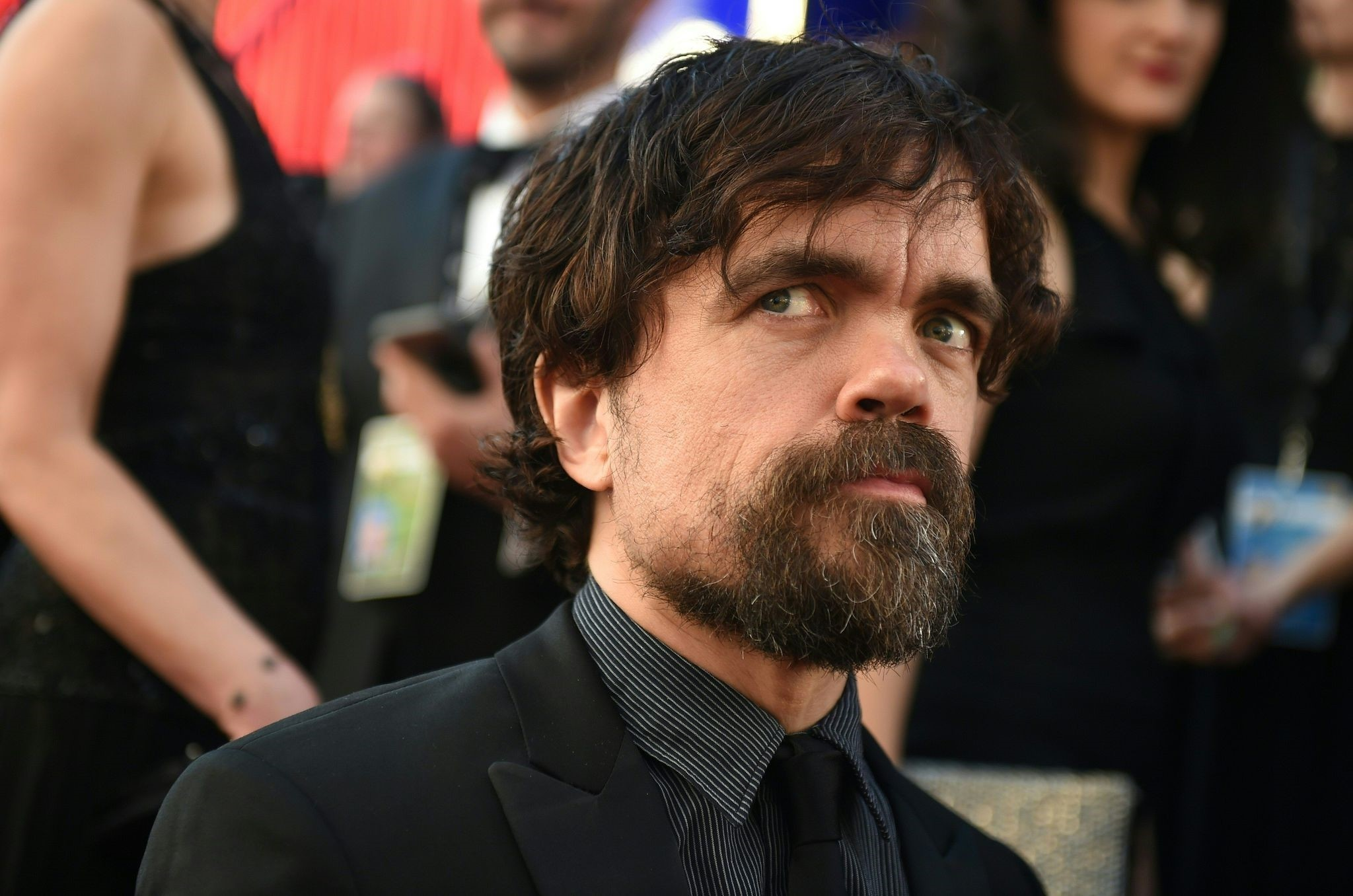 This file photo taken on January 29, 2017 shows actor Peter Dinklage arriving for the 23rd Annual Screen Actors Guild Awards in Los Angeles. (AFP Photo)