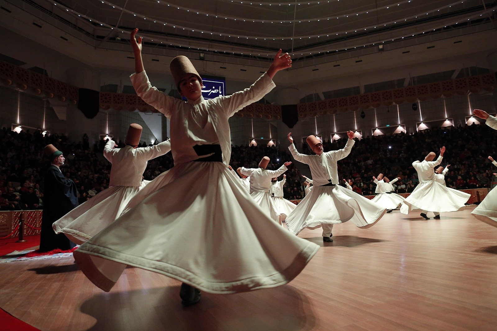 Turkey's whirling dervishes honor Rumi in Konya