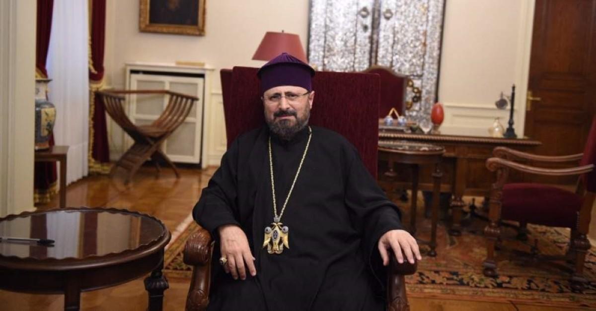 Patriarch Sahak Mau015falyan. (Photo: Sabah / u0130lhami Yu0131ldu0131rm)