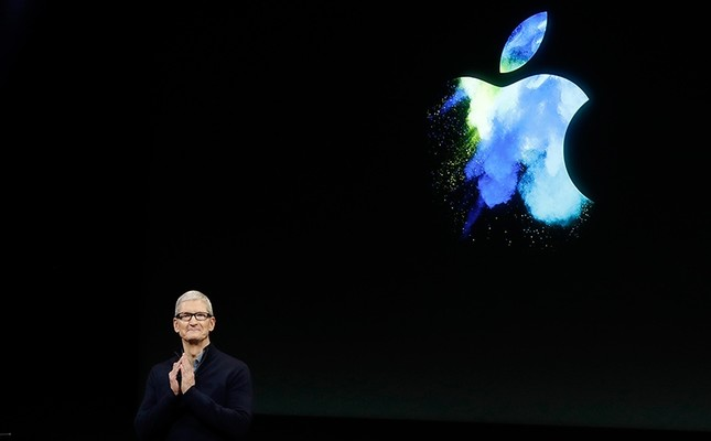 In this Oct. 27, 2016, file photo, Apple CEO Tim Cook speaks during an announcement of new products in Cupertino, Calif., U.S. AP Photo