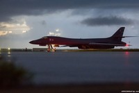 U.S. bombers flew off the coast of North Korea Saturday in a show of force designed to project American military power in the face of Pyongyang's weapons programs, the Pentagon said.  Defense...