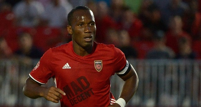 World star Drogba scores in debut with American side