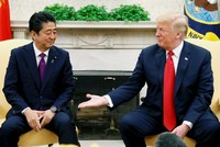 Japan denies report about Trump saying he 'remembers Pearl Harbor' in talks with Abe