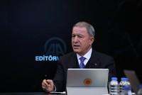 Turkey will always defend interests, Akar says